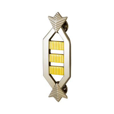 Nerd Block Star Trek Movie Era Captain Rank Insignia Lapel Pin with COA - SDCC