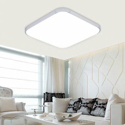 24W LED Ceiling Down Light  Square Modern Bedroom Lamp Surface Mount Fixture