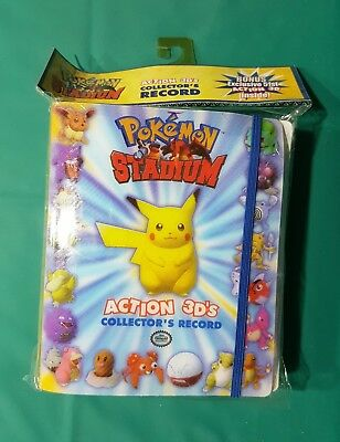 ONLY 1 WORLD WIDE- SEALED - Pokemon Stadium 3D Tazos- 51/50 BNWT complete