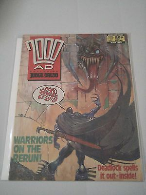 2000AD Featuring Judge Dredd Issue 581 Judge Dredd