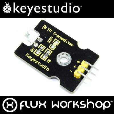 Keyestudio 5mm IR LED Module KS-027 Transmitter Remote Arduino Pi Flux Workshop