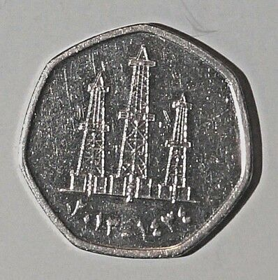 2013 (AH 1434) 50 Fils (فلس50) - Khalifa UNITED ARAB EMIRATES     (21)