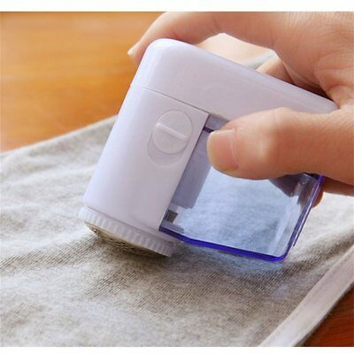 Mini Electric Fuzz Cloth Pill Lint Remover Wool Sweater Fabric Shaver Trimmer AS