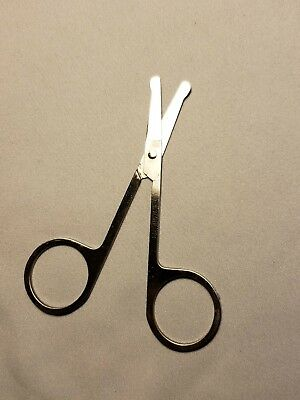 Free Shipping- Stainless Steel Precision Eyebrow Scissors