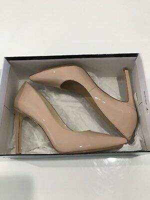 Nine West Nude Heels Size 7.5
