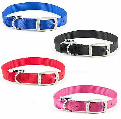 Ancol Heritage Soft Puppy Dog Nylon Strong Collar Handy Straps