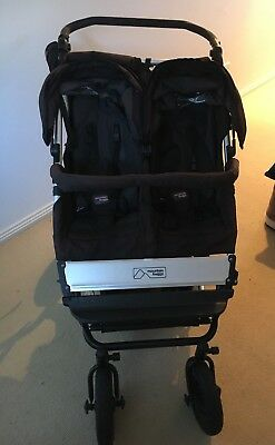 Mountain Buggy Duet - Black Excellent Condition