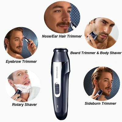 4 in 1 Electric Razor Shavers for Men Portable UBS Rechargeable Travel Wireless