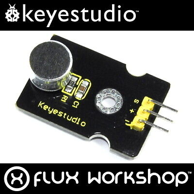 Keyestudio Analog Sound Sensor Module KS-035 Arduino Raspberry Pi Flux Workshop