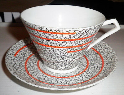 Vintage ROYAL PARAGON BY APPOINTMENT TEACUP & SAUCER SET