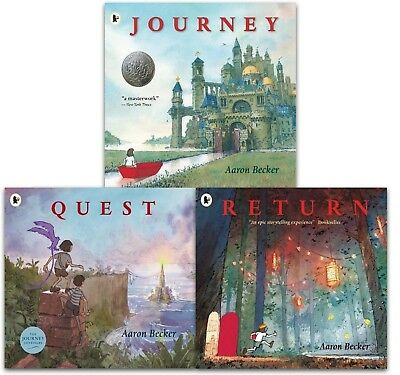Journey Trilogy Aaron Becker Collection 3 Books Set Pack Journey, Quest, Return