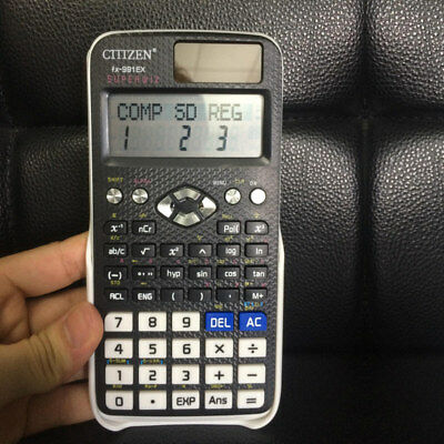 Solar Power Scientific Calculator EX 552 For Home Office  Counter Calculating