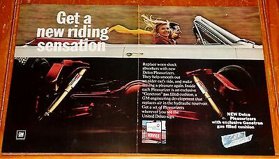 1964 Chevy Impala Convertible For Large Delco Shocks Ad - Vintage Chevrolet 60S