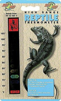 ZooMed High Range Reptile Thermometer - Klebestreifen Thermometer