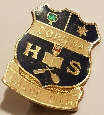 Corowa HS High School NSW Badge Carpe Diem Perfection Badges Sydney