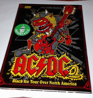 Ac/dc-Dvd-Black Ice Tour Over North America-2 Concerts-Very Rare