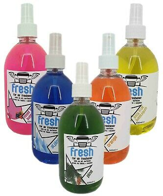 Car Air Freshener Liquid - Car Valeting - 500ml