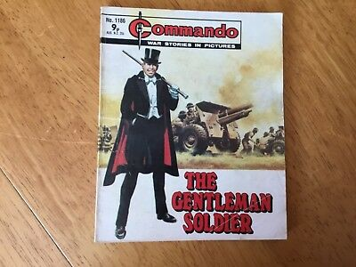 Commando War Comic - No 1186 The Gentleman Soldier