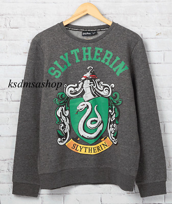 Slytherin House Crest Harry Potter Ladies Girls Sweater Sweatshirt