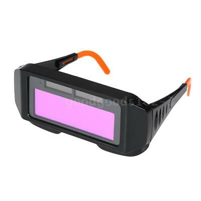 Auto Welding Auto Dimming Welding Lens Solar Protect Eyes Safety Glasses K8T4