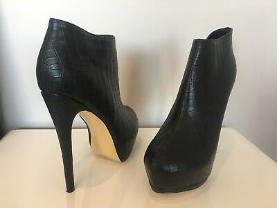 Ankle Boot High Heels *Large Size US 15.5* NEW