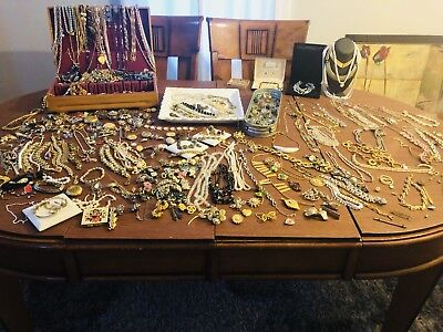 JEWELRY LOT - Perfect Antique/Vintage, 90% Signed, All GOOD Pieces, No Junk!