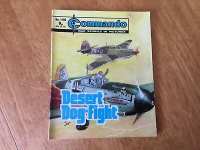 Commando War Comic - No 1199 Desert Dog-Fight