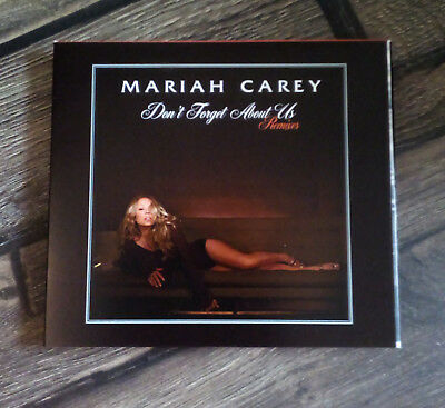 Mariah Carey - DON'T FORGET ABOUT US rare Remixes DOUBLE CD in Digipack