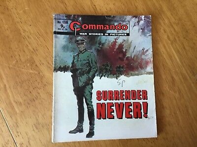 Commando War Comic - No 1200 Surrender Never!