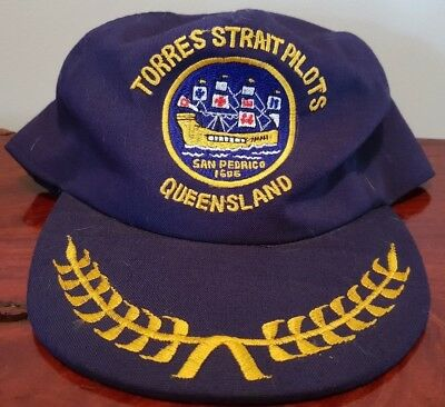 Torres Strait Pilots Queensland San Pedrico Hat Cap Collectable