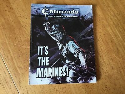 Commando War Comic - No 1202 It's The Marines !