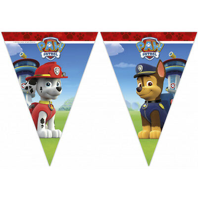 Paw Patrol Happy Birthday Party Themed Flag Bunting Banner 23m Long