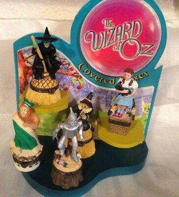Enesco -Wizard of Oz ,5 Covered Boxes with Display Stand