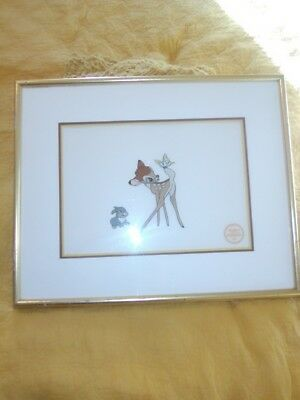 1942 Walt Disney Company Limited Edition serigraph from original Bambi
