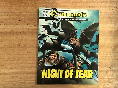 Commando War Comic - No 2324  Night Of Fear