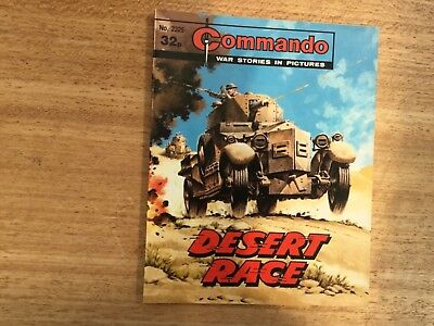 Commando War Comic - No 2325 Desert Race