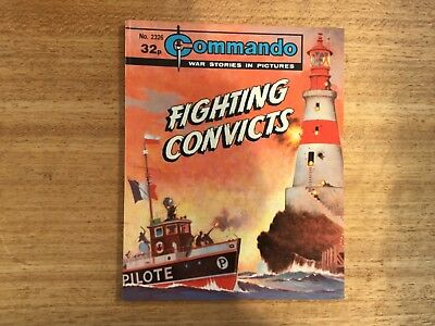 Commando War Comic - No 2326 Fighting Convicts