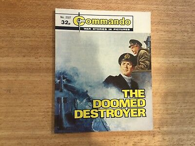 Commando War Comic - No 2327 The Doomed Destroyer