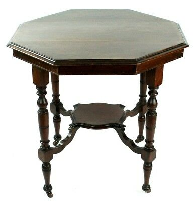 Edwardian Mahogany Octagonal Occasional Table - FREE Delivery [PL4589]