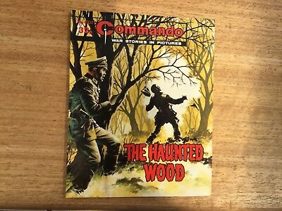Commando War Comic - No 2332 The Haunted Wood