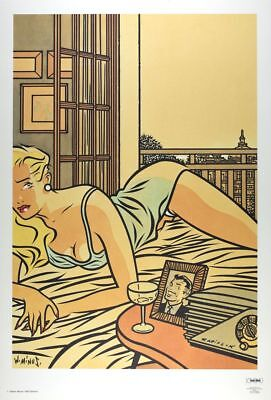 Affiche Offset Pin-Up Radiolux