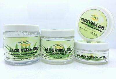 99% Organic Aloe Vera Gel MultiPurpose Soothing Gel for Hair & Skin Moisturiser