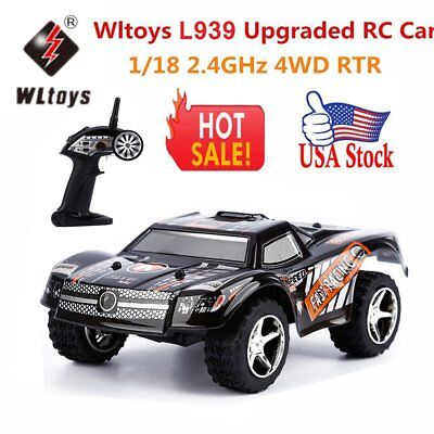 WLtoys L939 Remote Control RC Truck Off-Road Car Race Kids Electric Toy Model-BE