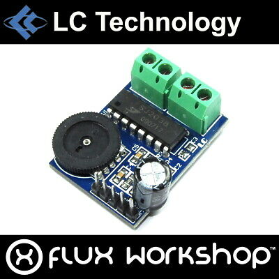 LC Technology 3W SJ2038 Dual Channel Audio Amplifier Module kHz Flux Workshop