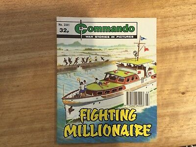 Commando War Comic - No 2341 Fighting Millionaire