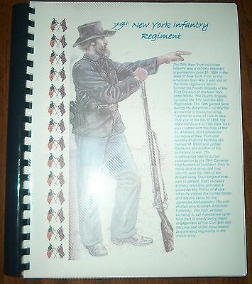 Civil War History of the 79th New York Infantry Regiments