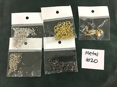 Metal Jewellery Making Findings - Mixed Pack of 5 - Metal #20