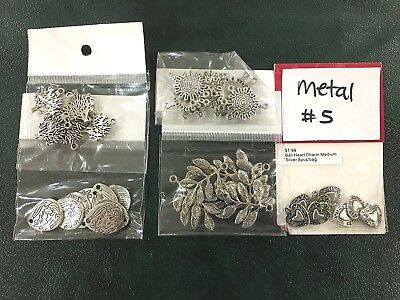 Metal Jewellery Making Findings - Mixed Pack of 5 - Metal #5