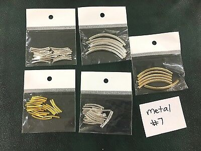 Metal or Metal Look Jewellery Making Findings - Mixed Pack of 5 - #7