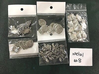 Metal or Metal Look Jewellery Making Findings - Mixed Pack of 5 - #8